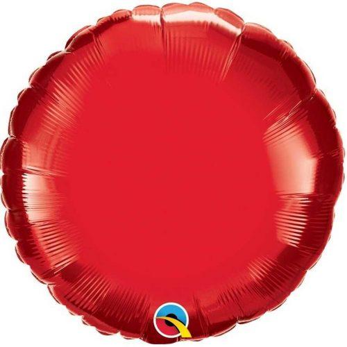 Piros fólia léggömb - 45cm