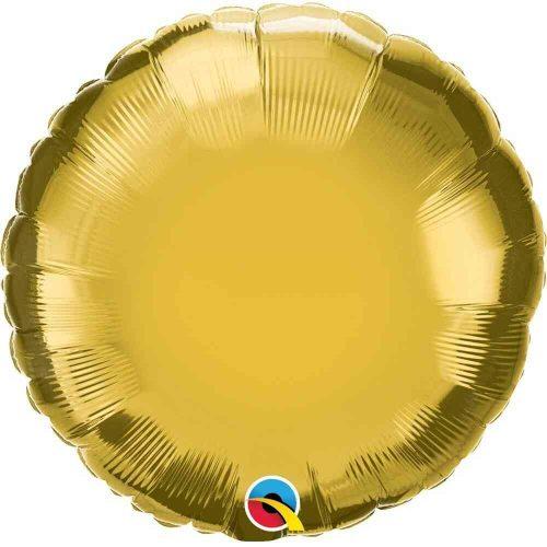 Arany fólia léggömb - 45cm