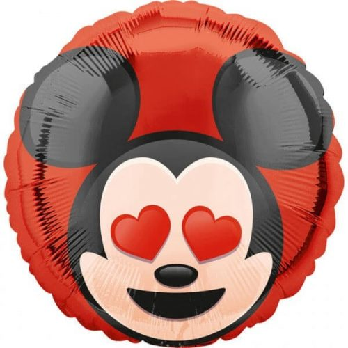 Mickey egér mintájú szerelmes lufi