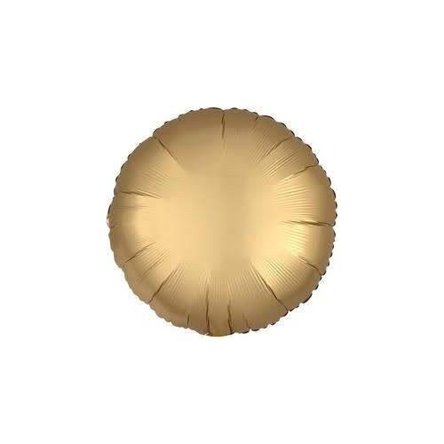 króm arany fólia léggömb