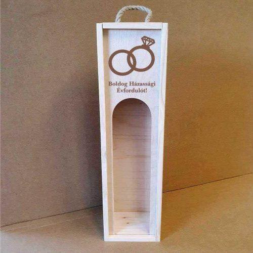 Bortartó doboz - Boldog Házassági Évfordulót!