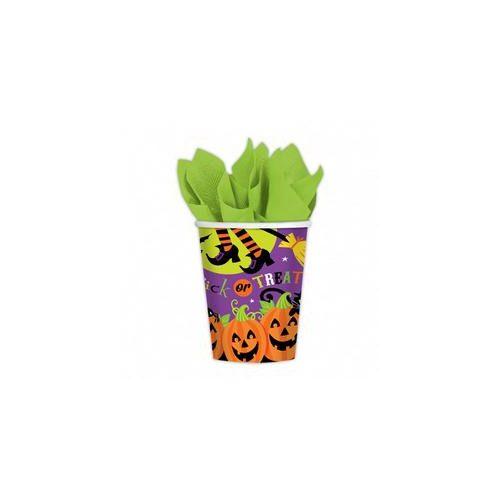 Halloween pohár szett- tökös