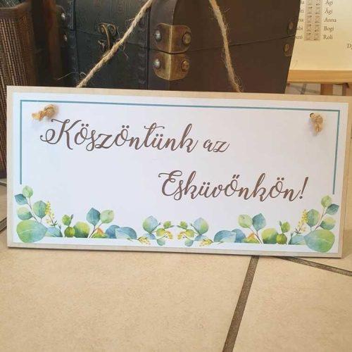 ESKUVOI KELLEKEK NASZAJANDEKOK-ESKUVO TABLA