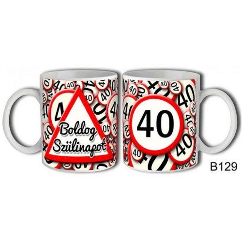 VICCES BOGREK-40 BOLDOG SZULINAPOT
