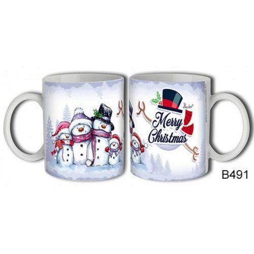 Merry Christmas! ... hóemberes karácsonyi bögre
