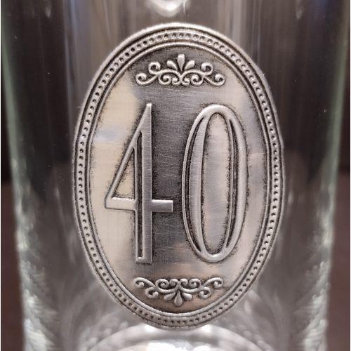 40. szülinapi söröskorsó