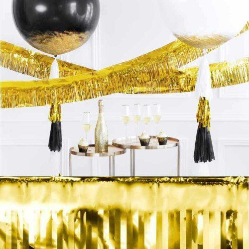 Party rojt füzér - arany