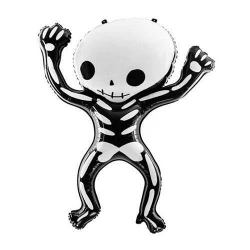 Csontváz formájú lufi