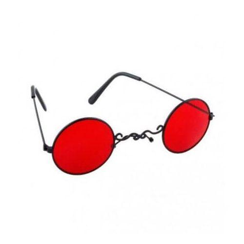 Drakula szemüveg piros lencsével
