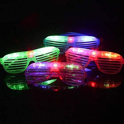 Világító partyszemüveg