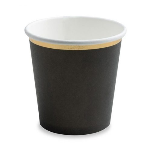 Fekete macska pohár szett
