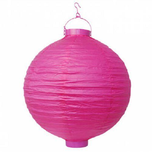 FUGGODISZEK-VILAGITO LAMPION PINK