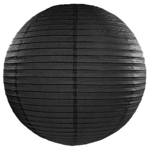 Lampion fekete 20cm