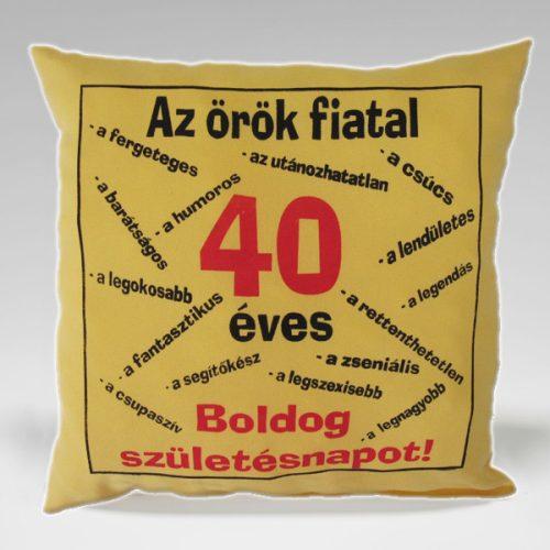 TREFAS PARNAK-AZ ÖRÖK FIATAL 40 ÉVES