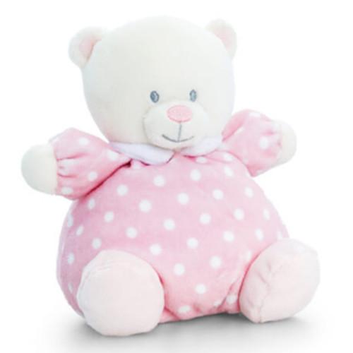 Bébi maci plüss rózsaszín - 16cm