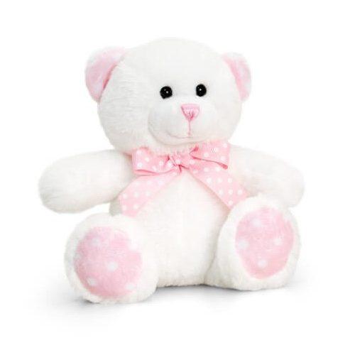 Bébi plüss maci rózsaszín - 15cm