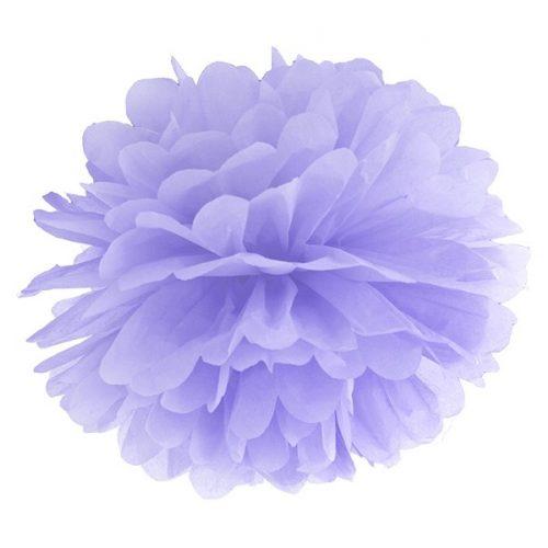 Pom-pom gömb világos lila 25cm