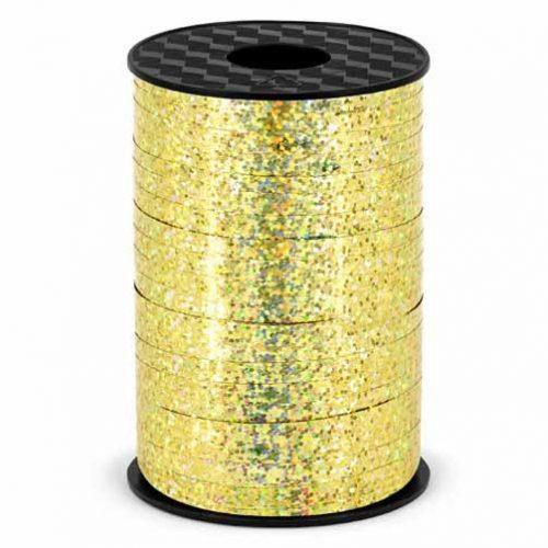 Szalag műanyag arany - 225m