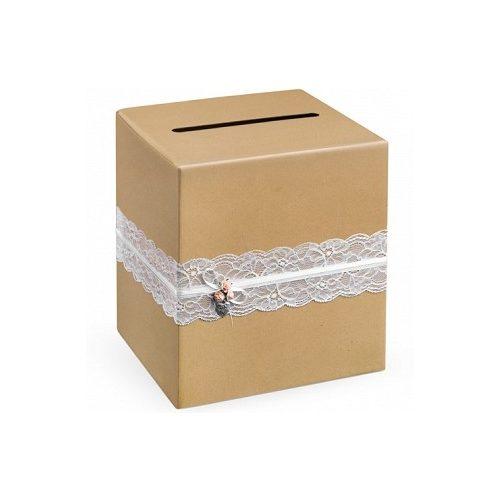 Nászajándék doboz esküvőre - VINTAGE