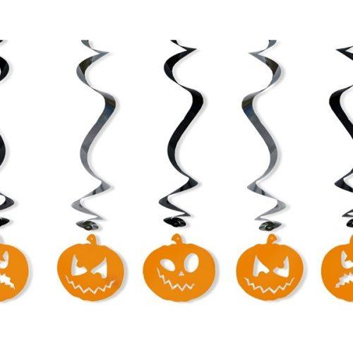 Halloween függődekor - tök