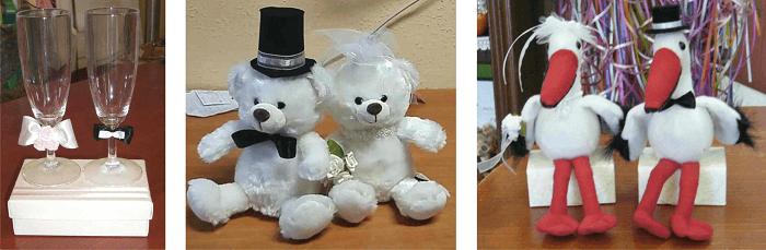 esküvői díszcsomagolás