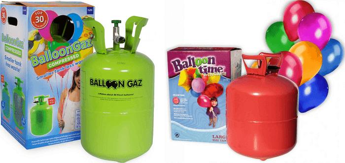 héliumos palack